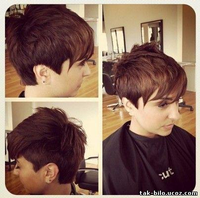 Short and shaved haircuts